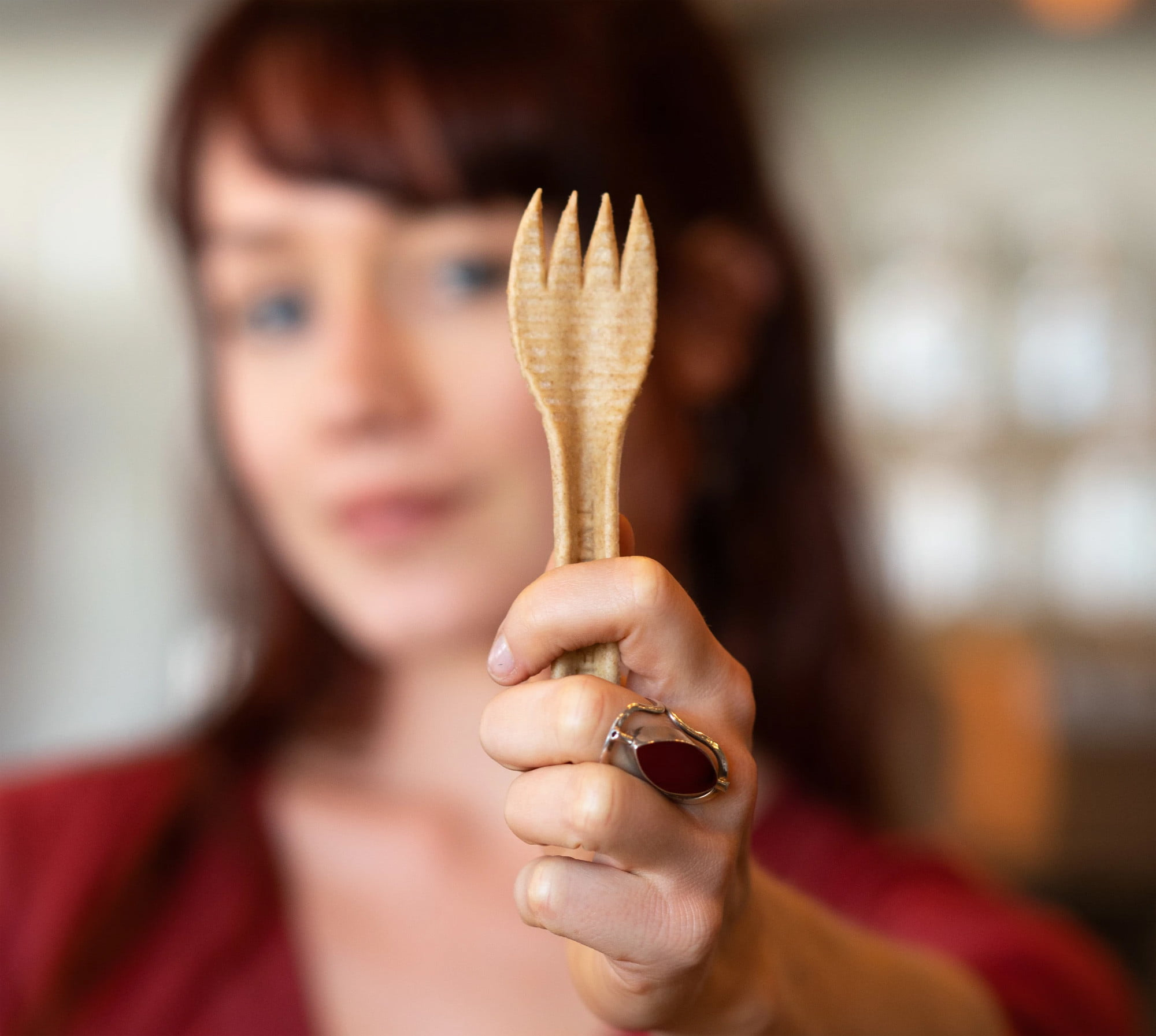 Compostable cutlery could help solve the world's waste plastic crisis