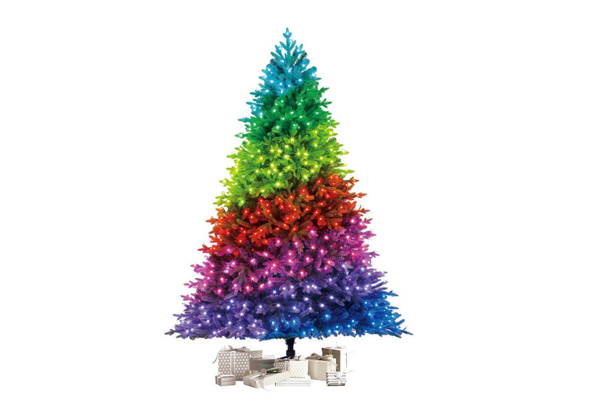 Customize the look of your Christmas tree with Twinkly smart lights