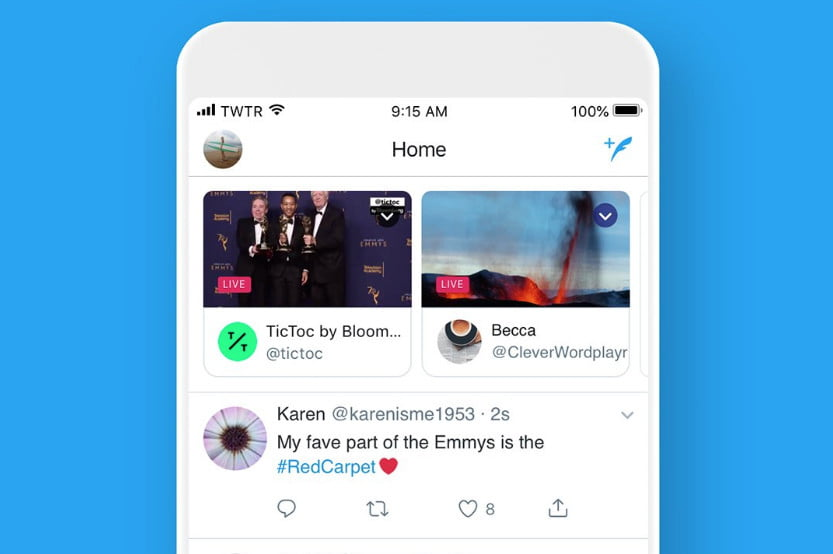 Twitter Makes It Easier to Find and Watch Live Broadcasts