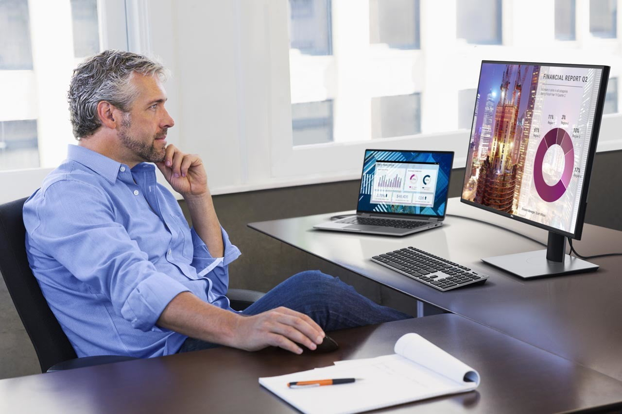 CES 2020: Dell's new 4K USB-C monitors look absolutely stunning