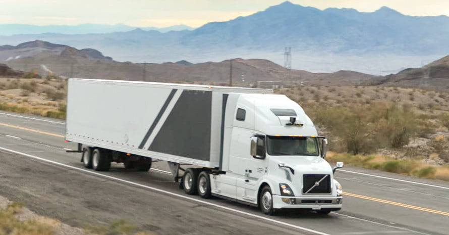Uber's Self-driving Trucks Are Now Transporting Freight Across Arizona