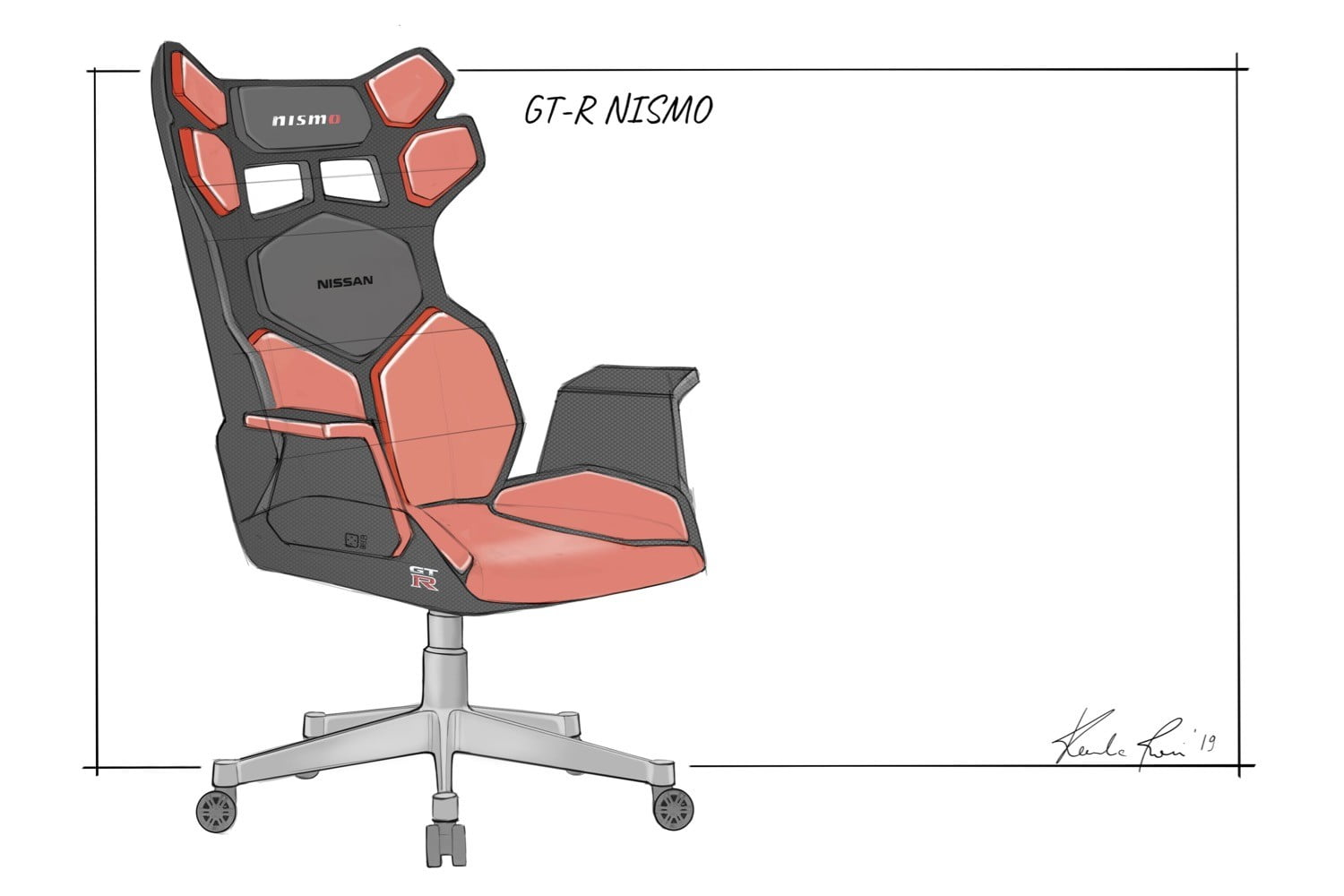 Nissan used its car seat design experience to create these cool gaming chairs