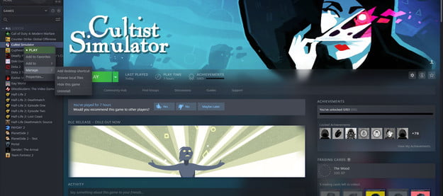 how to uninstall steam games 1