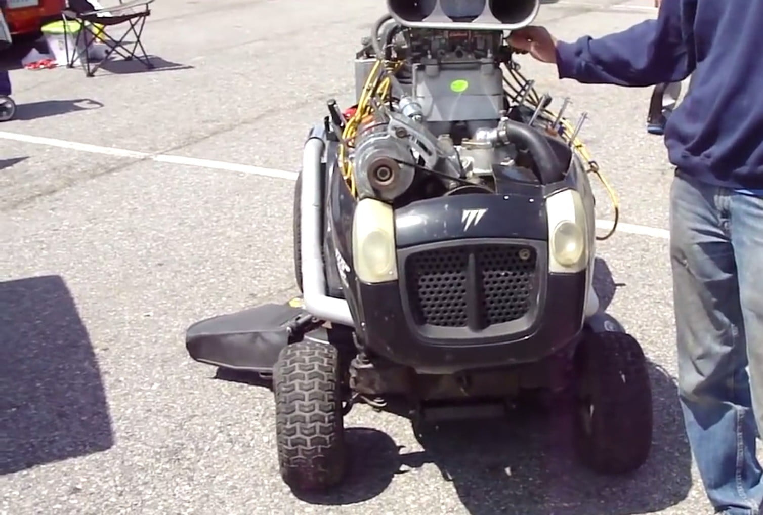 Chevrolet Powered Riding Mower Video Specs Features Digital Trends