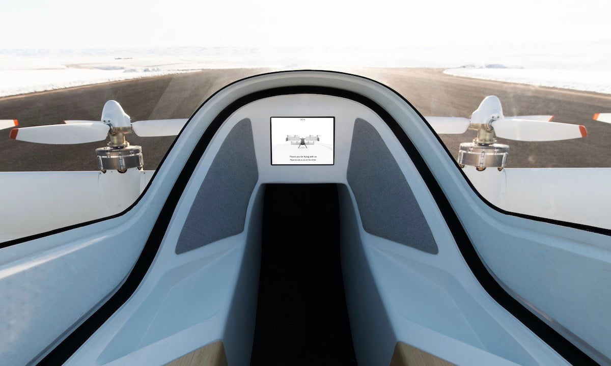 Airbus shows off the futuristic interior of its autonomous flying taxi