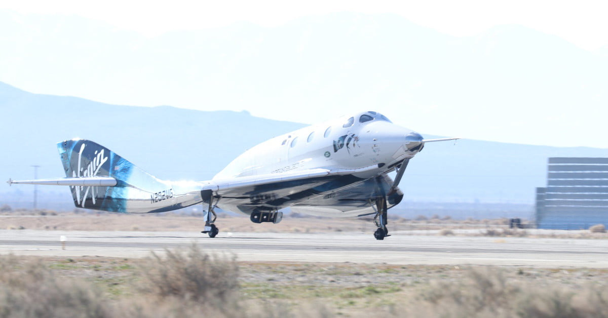 Virgin Galactic Space Plane Preps for Space Tourism Flights | Digital Trends