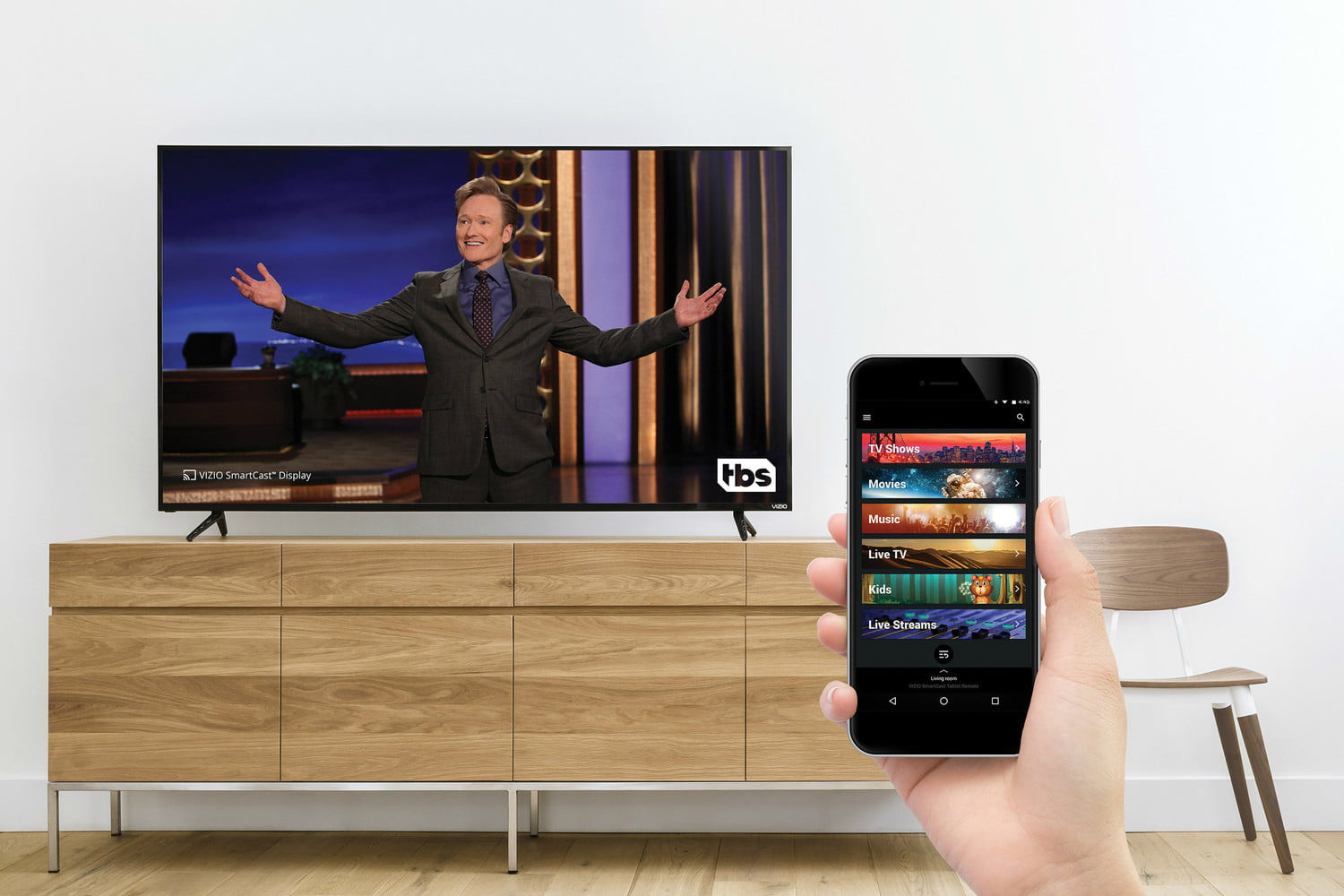 Vizio SmartCast Mobile Adds Turner Networks to its List of
