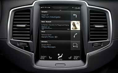 Volvo XC90 Sensus Connect Infotainment Review   Digital Trends