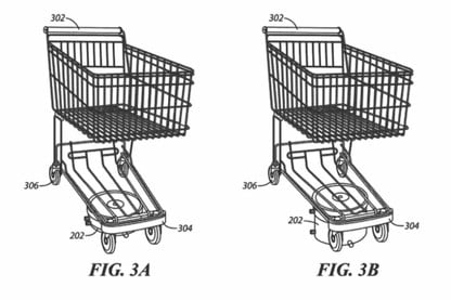Walmart Gains Patent for Self-Driving Shopping Carts