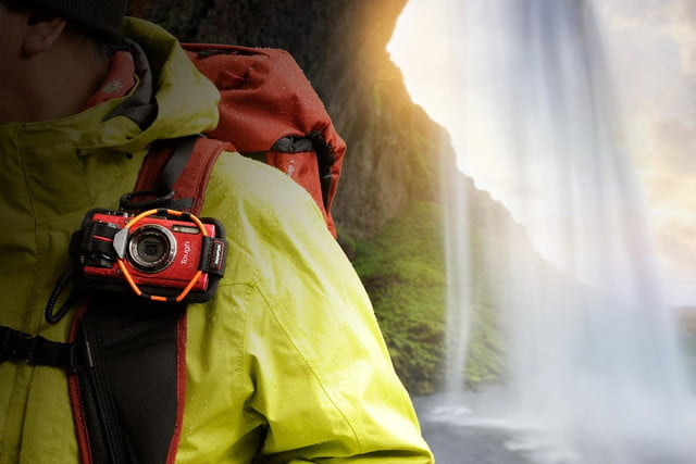 olympus tg 4 is first rugged compact to shoot uncompressed raw photos waterfall trecking tg4