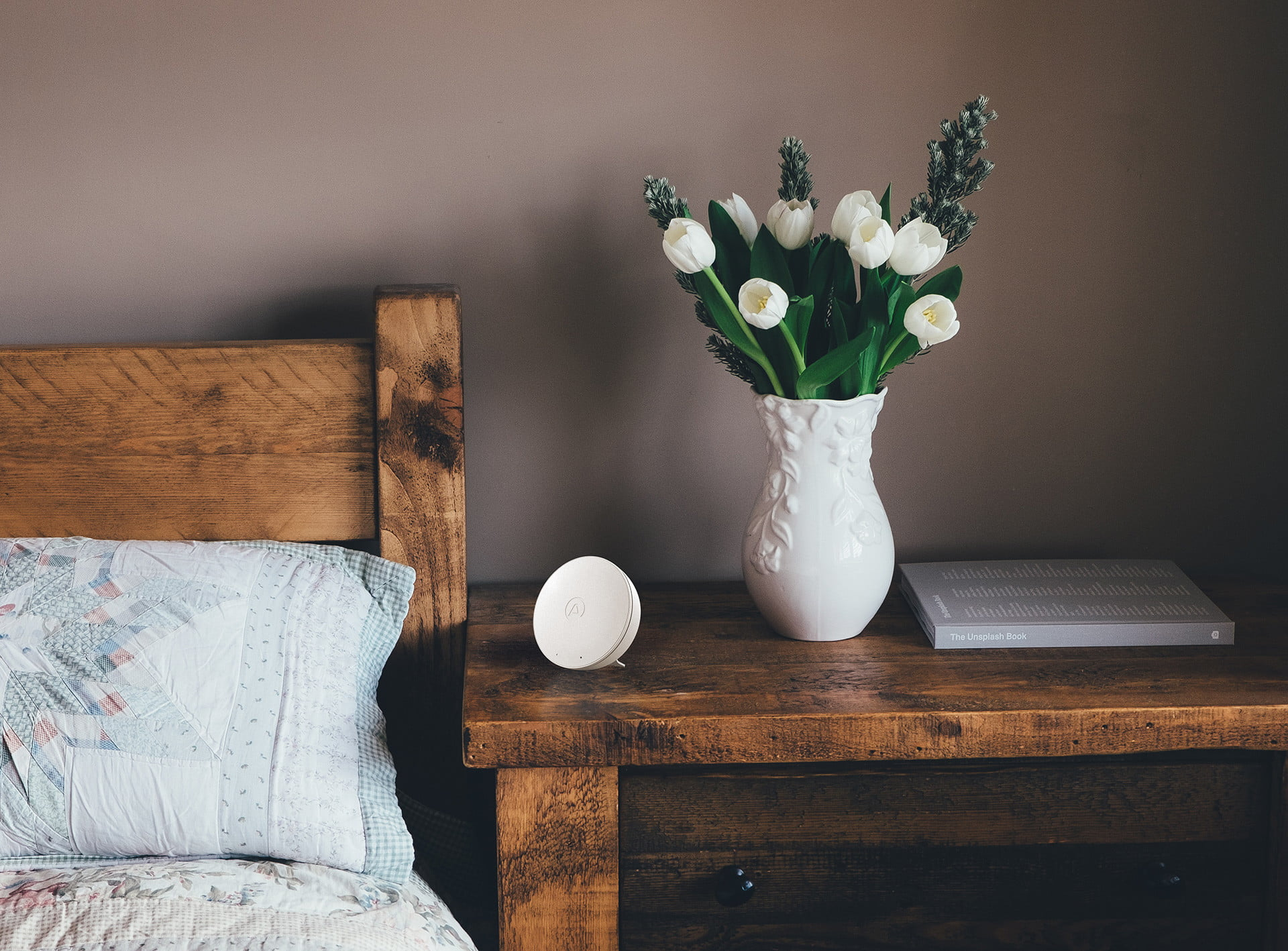 The Wave Mini makes sure the air you're breathing inside your home is safe
