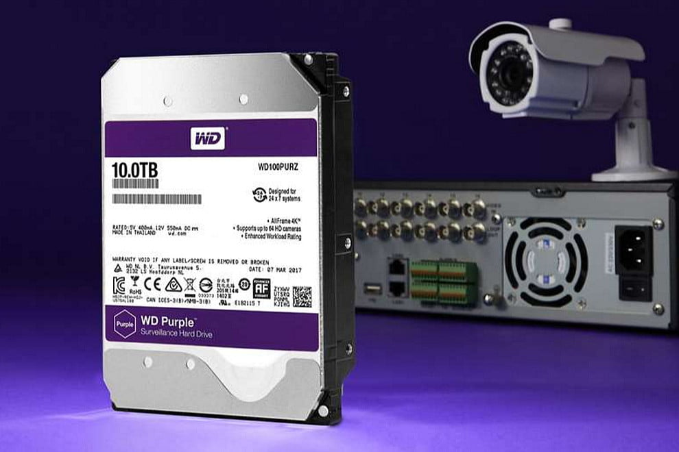 Western Digital's WD Purple Family Of Hard Drives Now