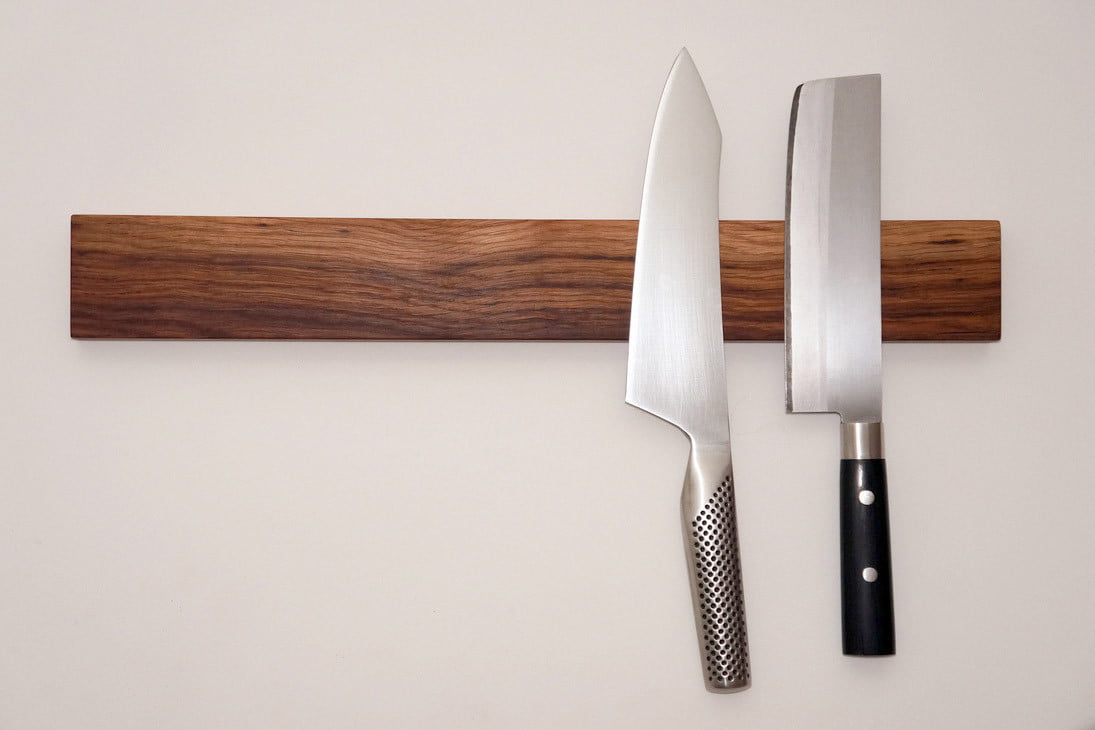 Weekend Workshop: How to build a magnetic knife rack