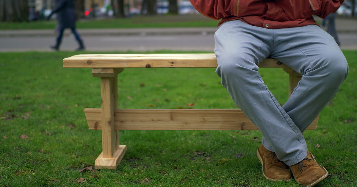 Enjoyable How To Build A Diy Japanese Style Bench With Just 3 Boards Ibusinesslaw Wood Chair Design Ideas Ibusinesslaworg