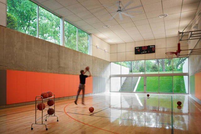 homes with indoor basketball courts wheeler kearns architects