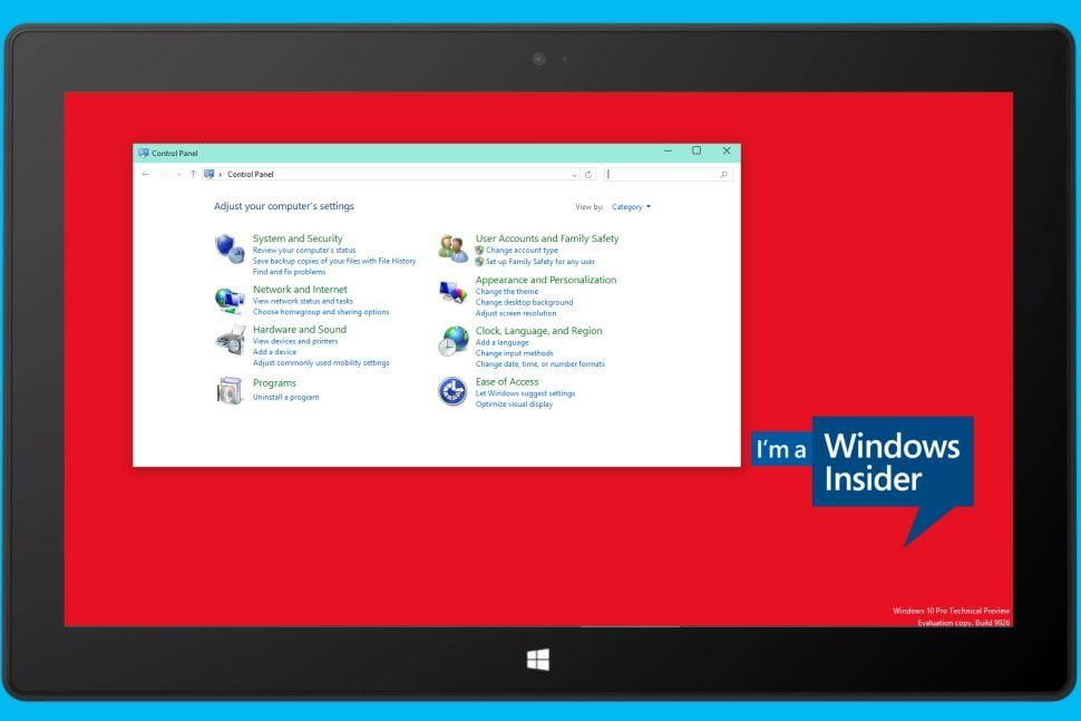 A tour of Windows 10's Settings app, Control Panel's