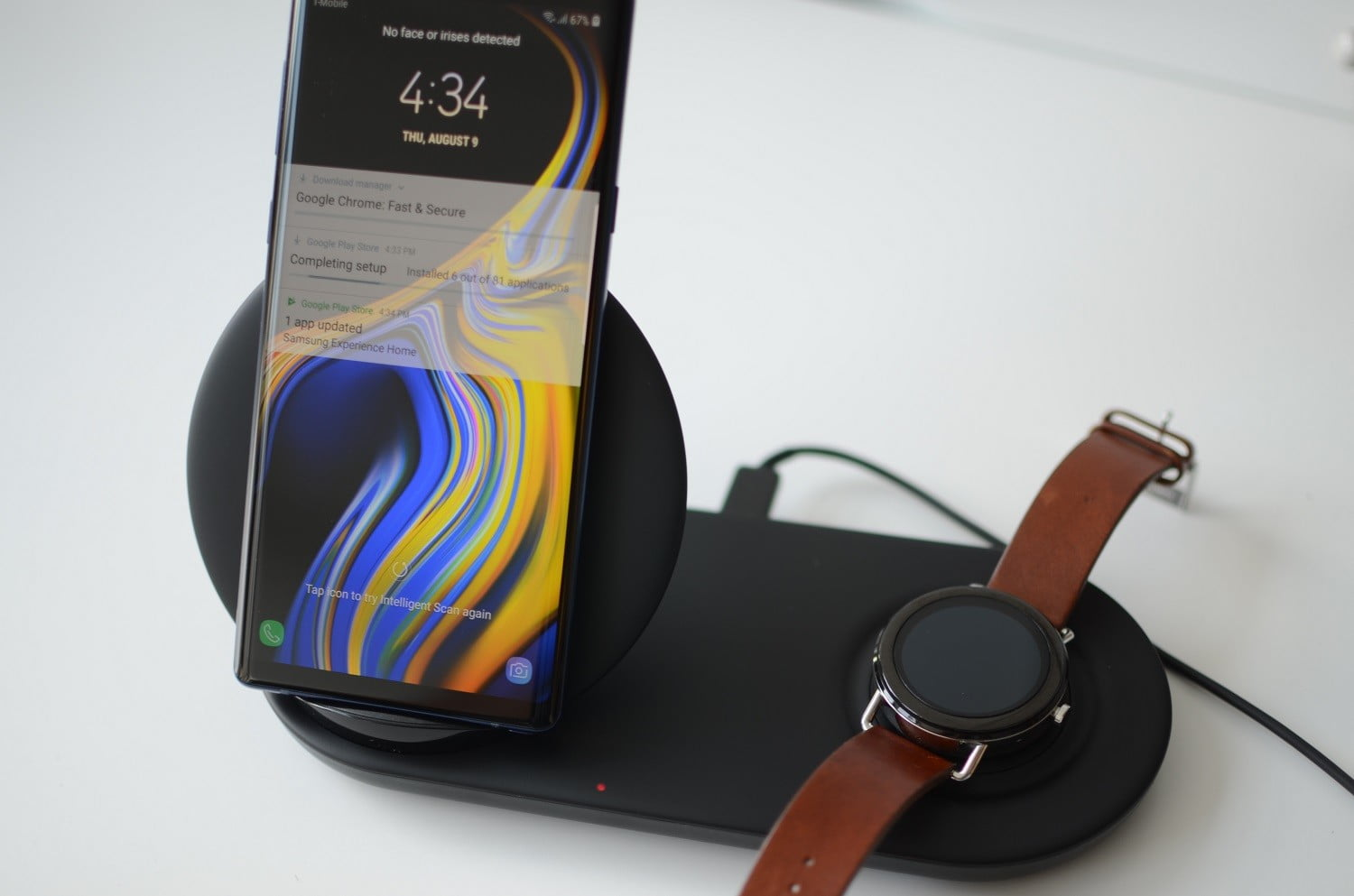 Charge Your Phone And Watch With Samsung's Wireless Charger