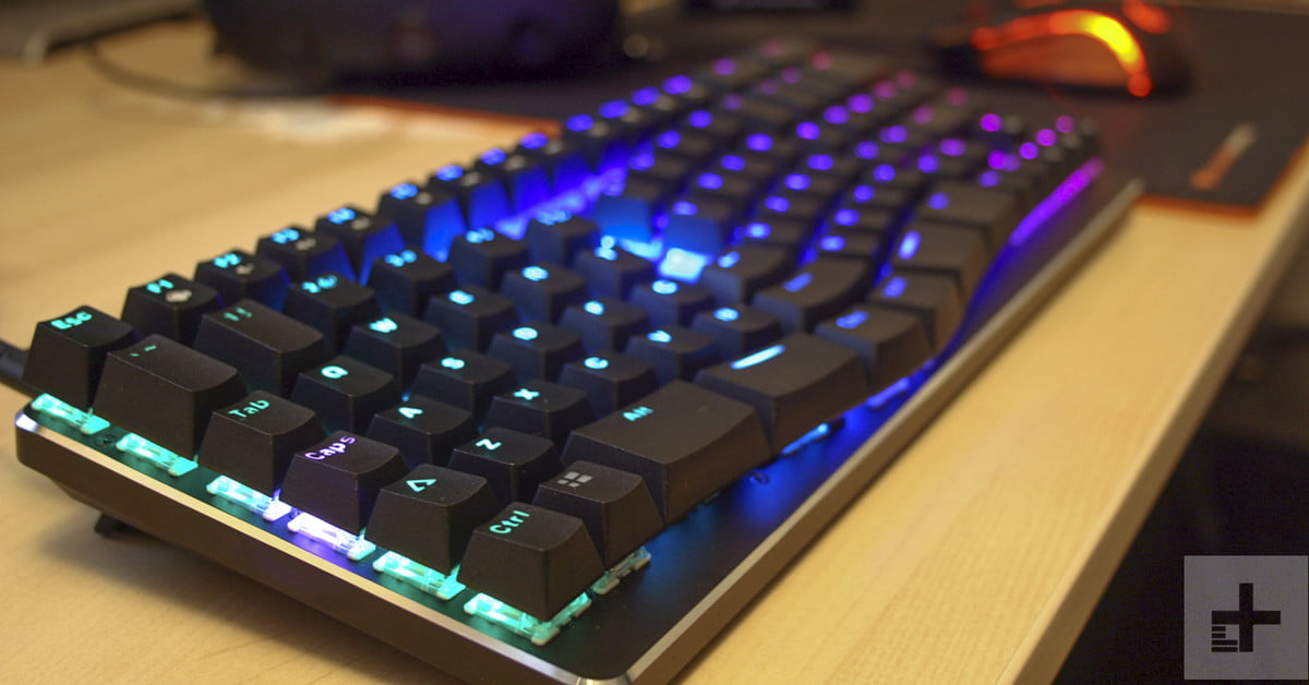 X Bows Mechanical Ergonomic Keyboard Hands On Review Digital Trends