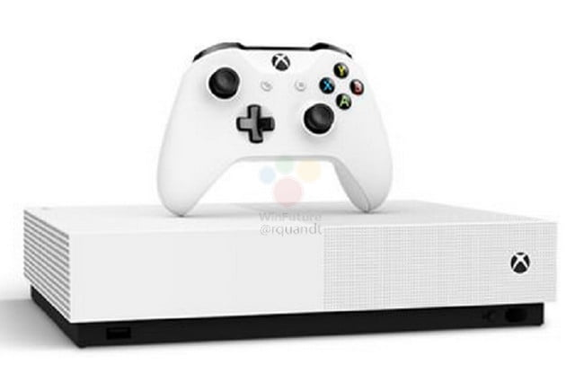Here's What The Xbox One S All Digital Edition Will Look