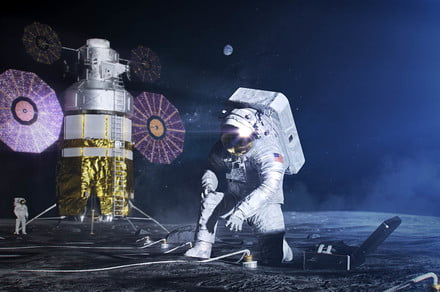 NASA shows off the new spacesuits that astronauts will wear to the moon