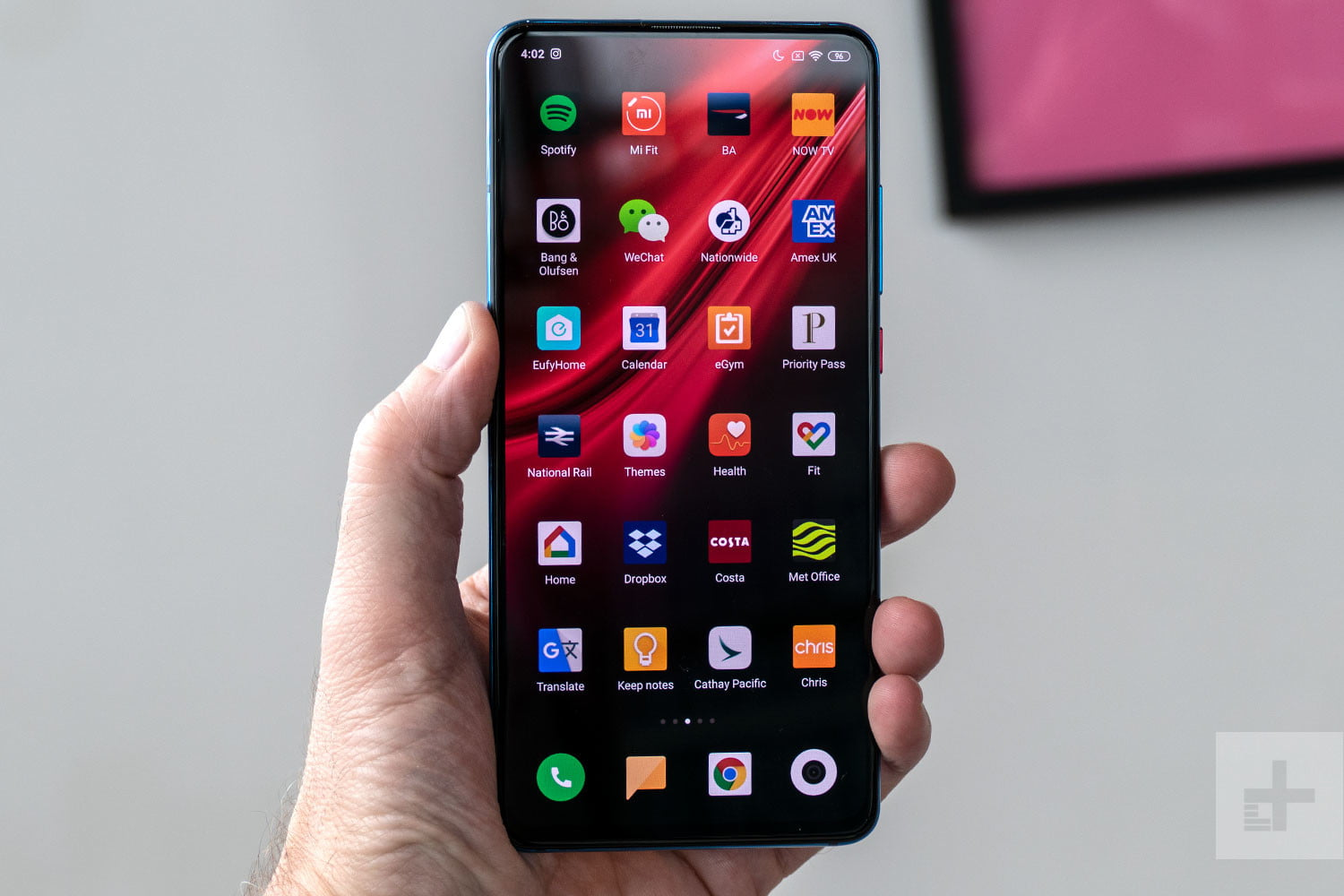 cell phone Instagram tracking Xiaomi Mi 9T