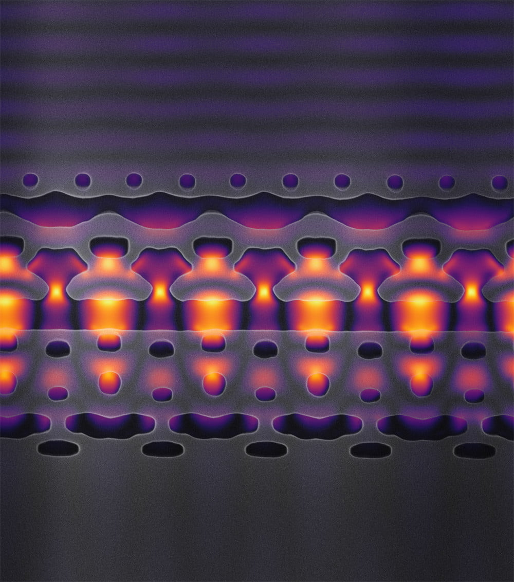 Researchers create tiny particle accelerator that fits on a silicon chip