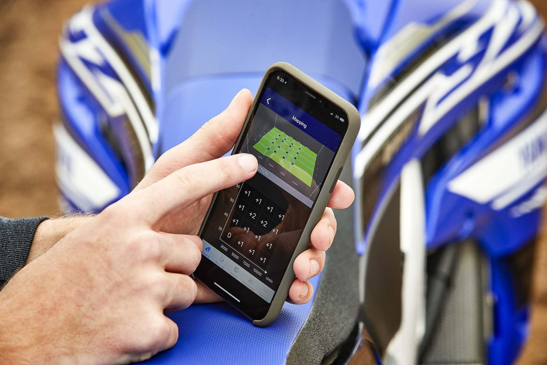 Yamaha's Power Tuner App Lets You Tune Your Motorcycle With