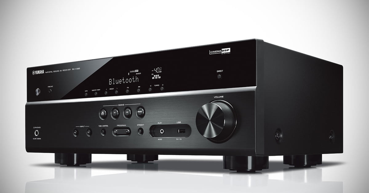 Yamaha Unveils RX-V385 A/V Receiver For Budding Audio
