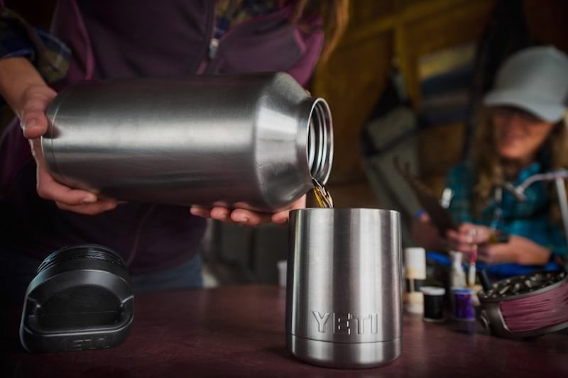 Yeti Rambler Jugs Keep Beverages Hot or Cold for Hours