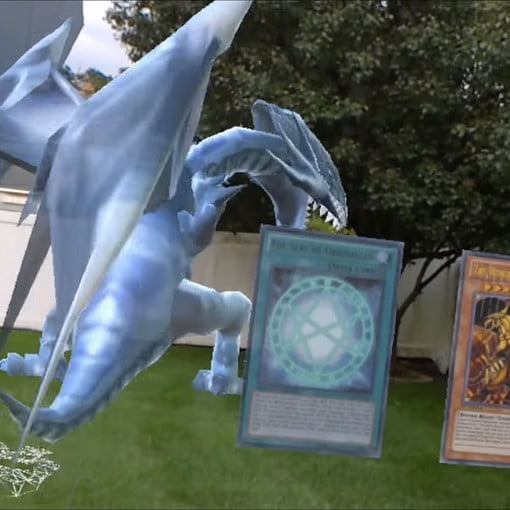 Battle Yu Gi Oh Monsters In The Real World With Hololens Digital Trends