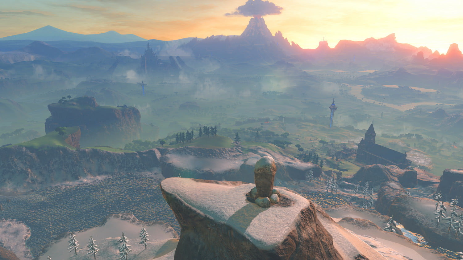 New 'Zelda: Breath of the Wild' footage shows off the new Temple of Time