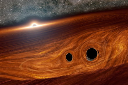 Colliding black holes could explode in epic light flares