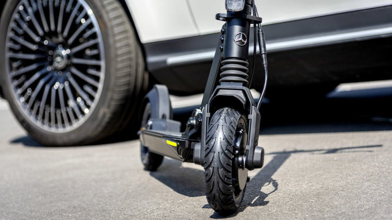 Mercedes-Benz wades into the micromobility fray with its first electric scooter