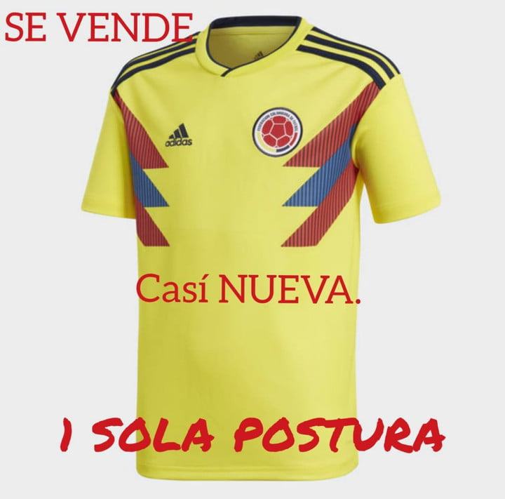 camisa colombia