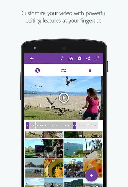 aplicaciones edicion video para ios y android adobe premier