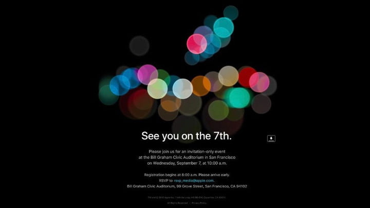 rumores iphone 7 apple conference sept