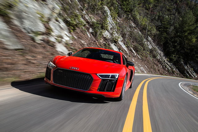 audi r8 v10 plus en daytona road trip 08