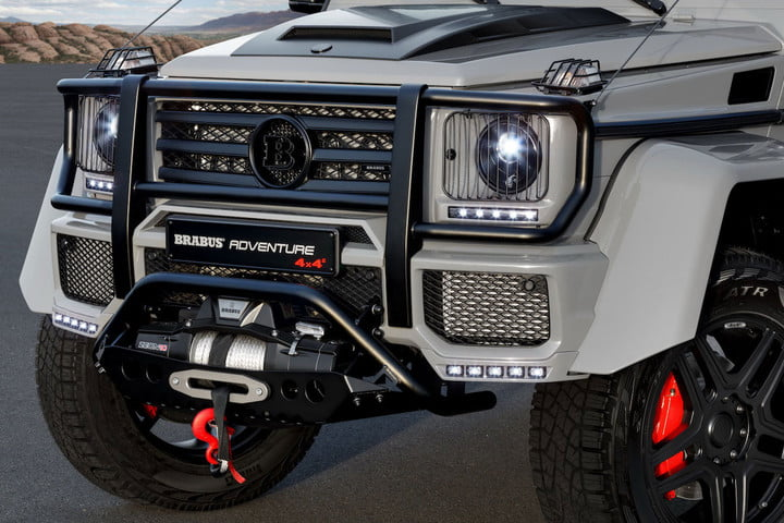 mercedes brabus adventure 550 4x4 head