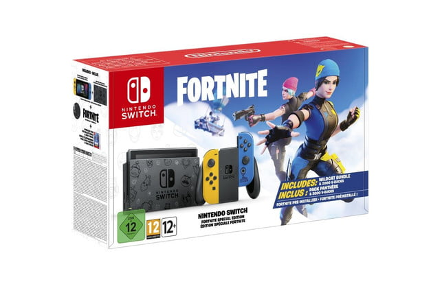 Consola Nintendo Switch basada en Fortnite
