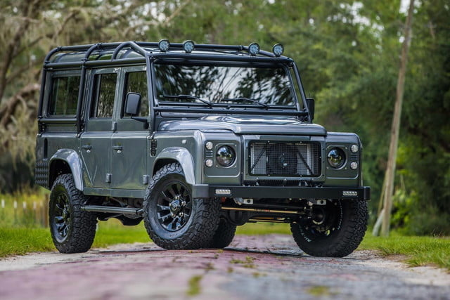 land rover defender project kingsman feat