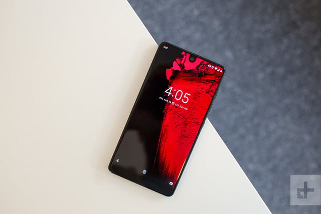 revision essential phone ph 1 angle on table