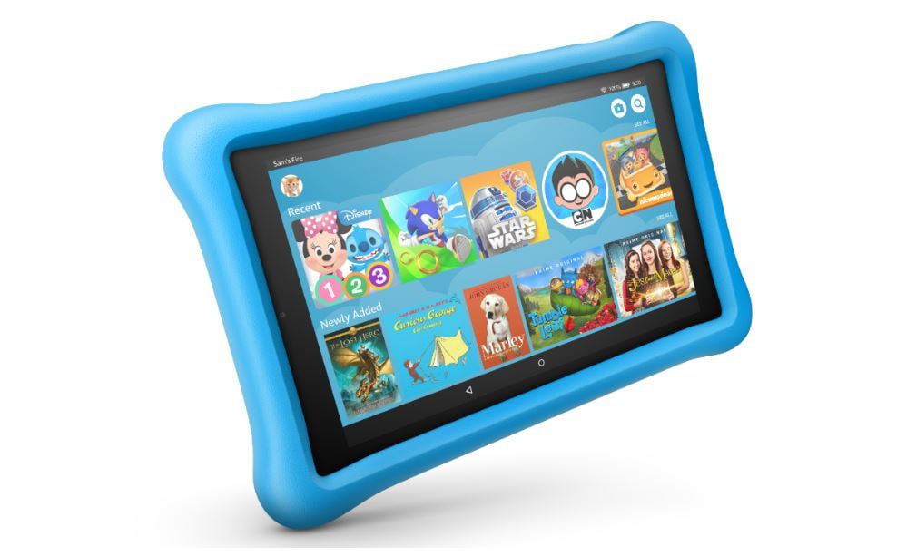 revision fire hd 8 kids edition tablet