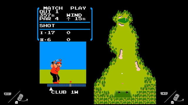 nintendo switch golf nes golf1