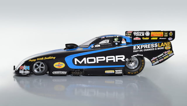 mopar 80 aniversario 80th express lane dodge charger r t funny car