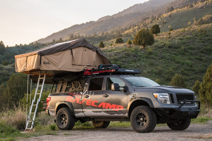 nissan titan project basecamp feat