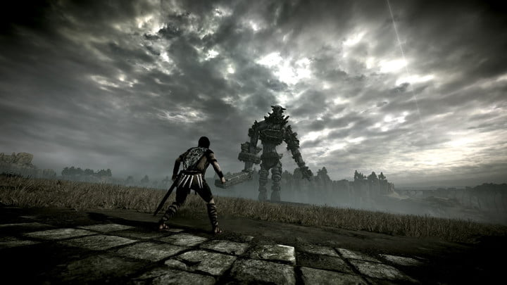 shadow of the colossus revision remake reiew tall boi desaturate filter
