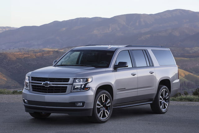chevy suburban rst package este verano the 2019 performance features a 420 hp  6 2l v 8 engine magnetic ride control with cal