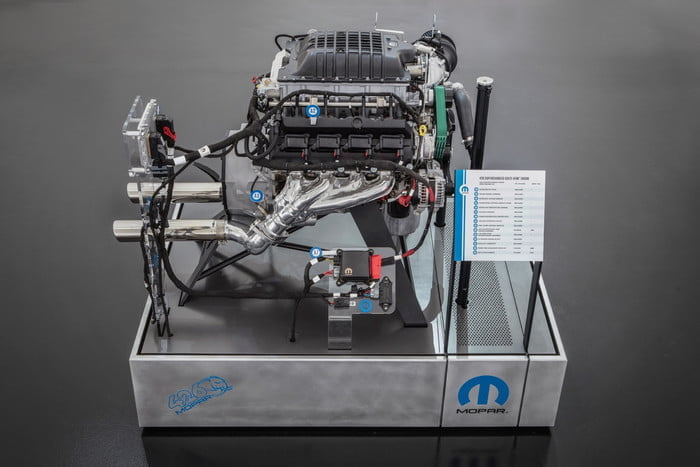 motor hellephant dodge charger mopar the 426 supercharged crate hemi engine is a first for 1000 horsepower kit offered by an