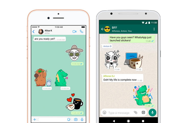 whats app stickers