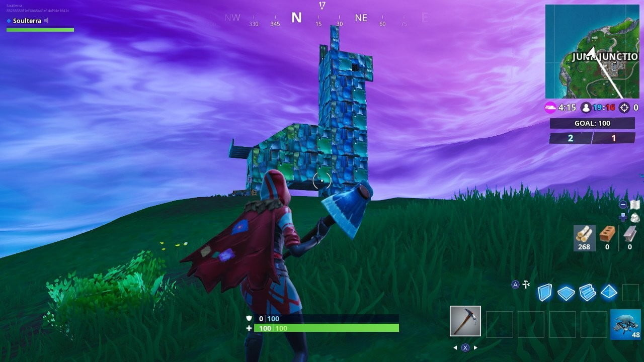 Fortnite Week 6 Visit To A Rabbit Of Wood Pig Of Stone And A